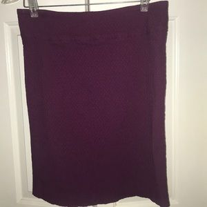 Margaret M stretchy purple pencil skirt ✏️